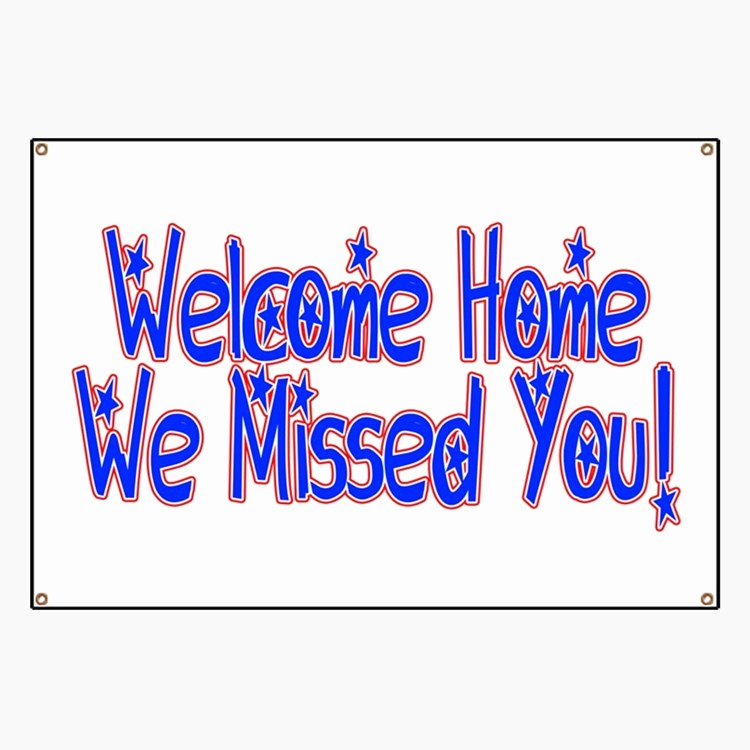Welcome Back Sign to Print New Navy Wel E Home Banners & Signs