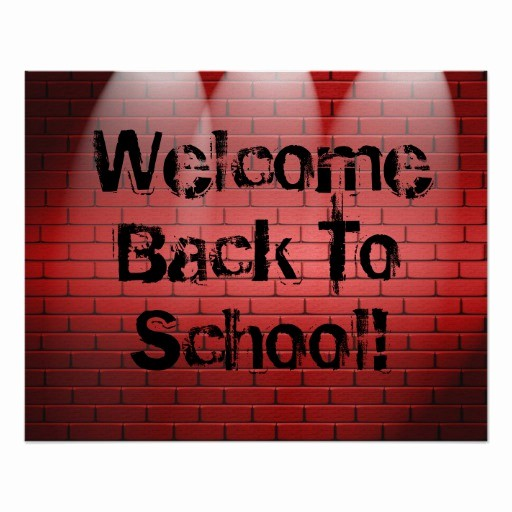 Welcome Back Sign to Print New Wel E Back to School Poster Print Sign