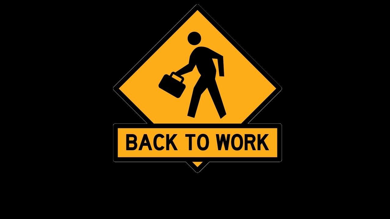 Welcome Back to Work Signs Awesome Reprise Du Travail Avec Bebe Une Journée Dans La Peau D