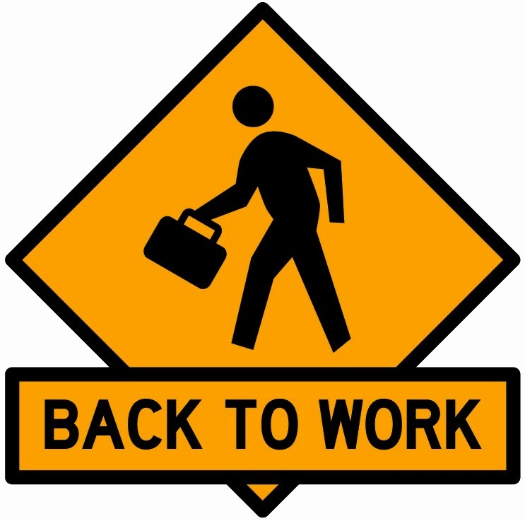 Welcome Back to Work Signs Beautiful Back to Work – Better Being 940