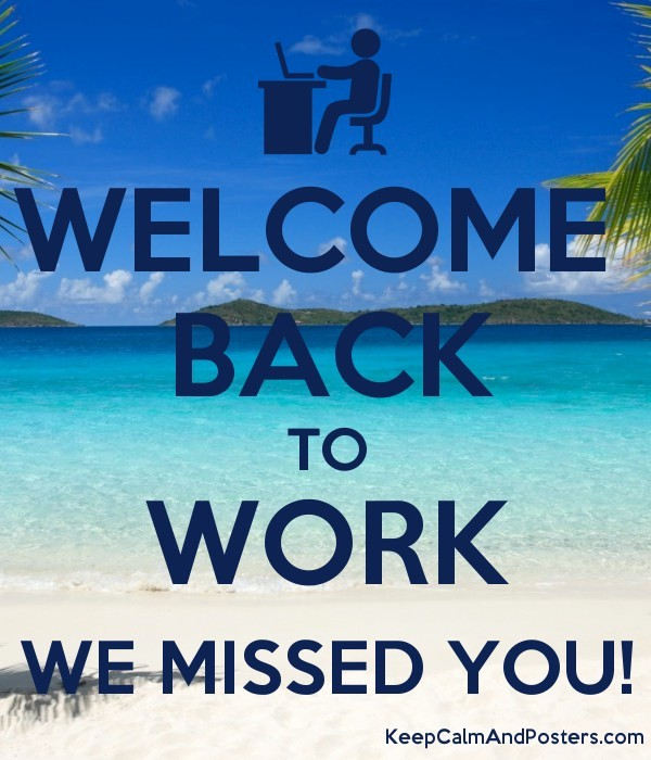 Welcome Back to Work Signs Elegant Wel E Back We Missed You Sign In Hebrew to Pin