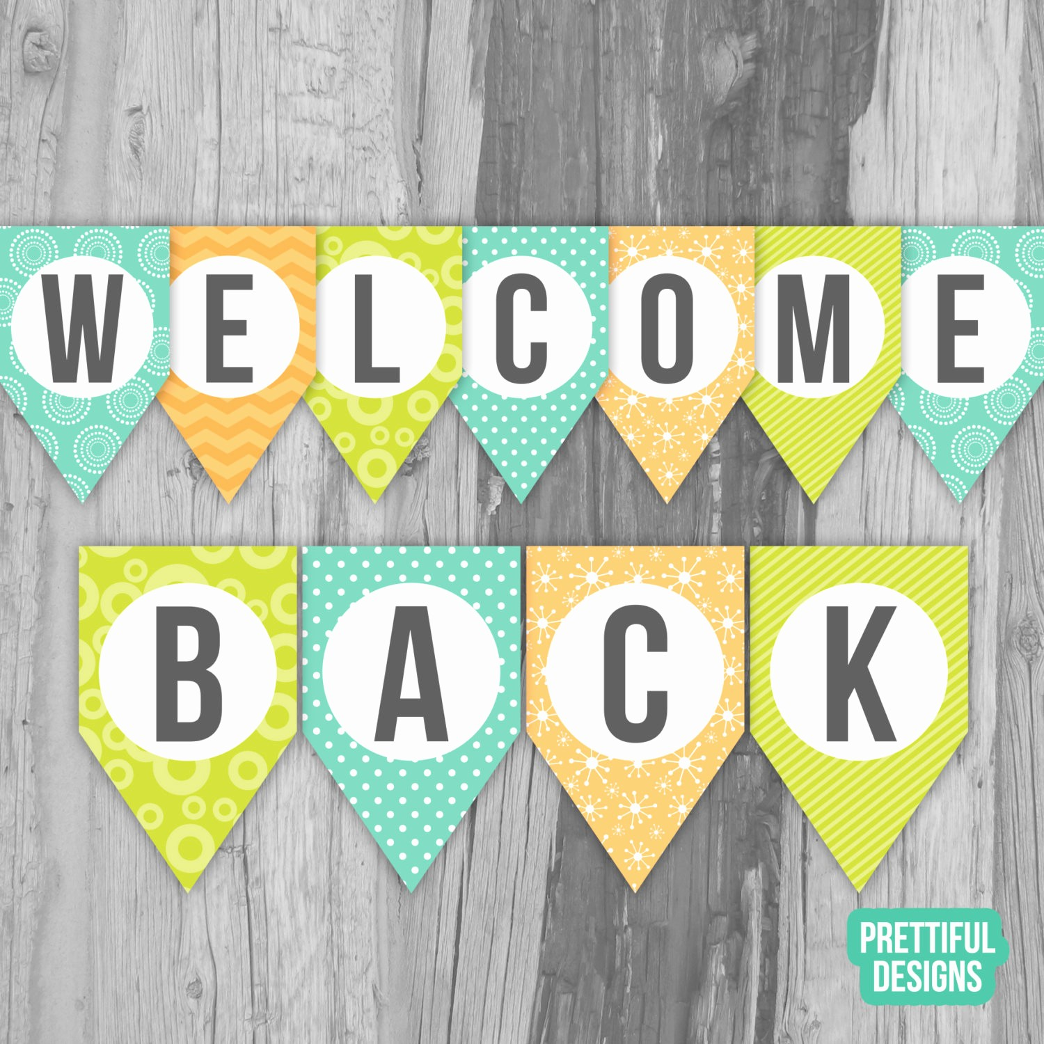 Welcome Back to Work Signs Fresh Wel E Back First Day Of School Banner Printable Instant