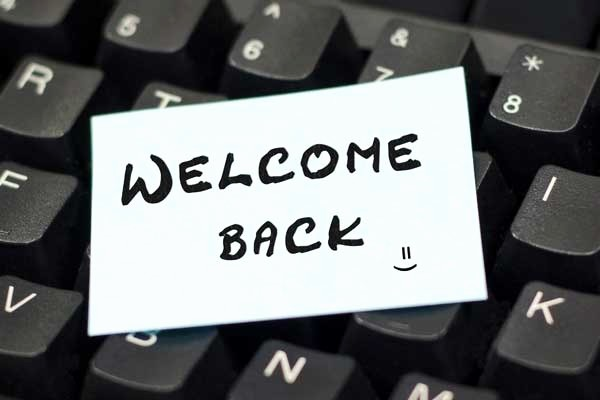 Welcome Back to Work Signs Inspirational Back to Work