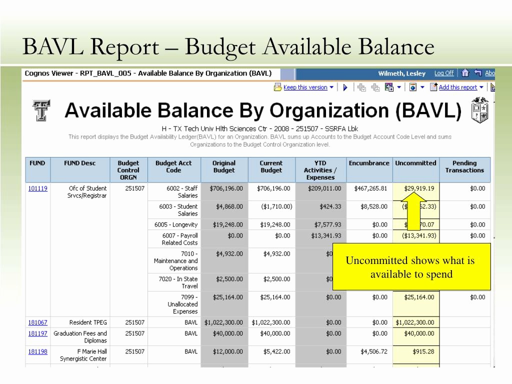 What is A Budget Report Inspirational Ppt Budget Reports From Banner Finance Powerpoint