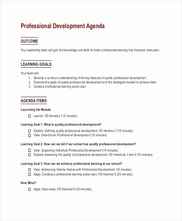 What is A Business Agenda Fresh 33 Agenda Template Designs