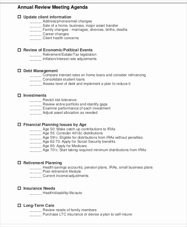 What is A Business Agenda Lovely Annual Agenda Template 10 Free Word Pdf format