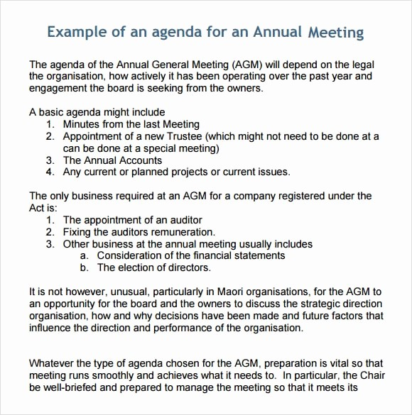What is A Business Agenda New 6 Free Meeting Agenda Templates Excel Pdf formats