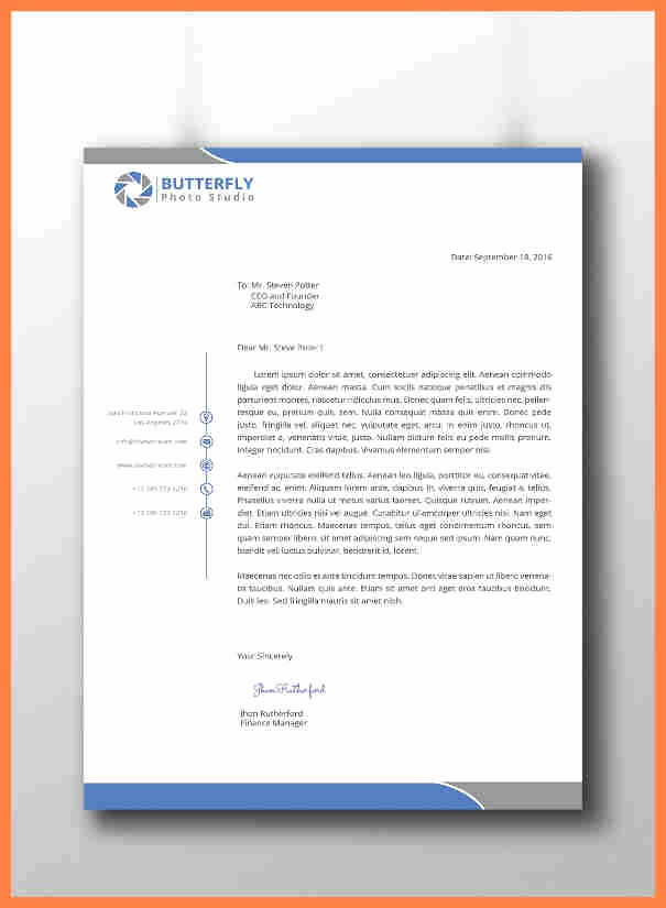 What is A Business Letterhead Best Of 10 Cool Letterhead Templates