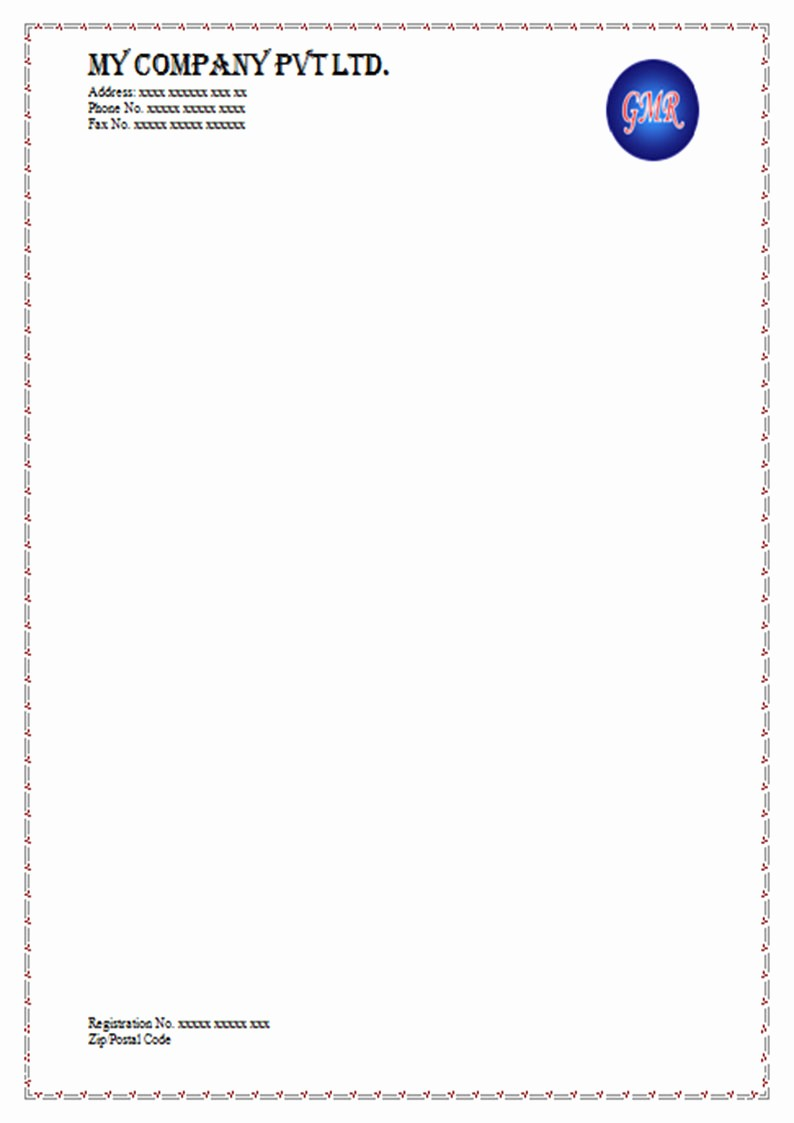 What is A Business Letterhead Fresh 18 Letterheads Samples