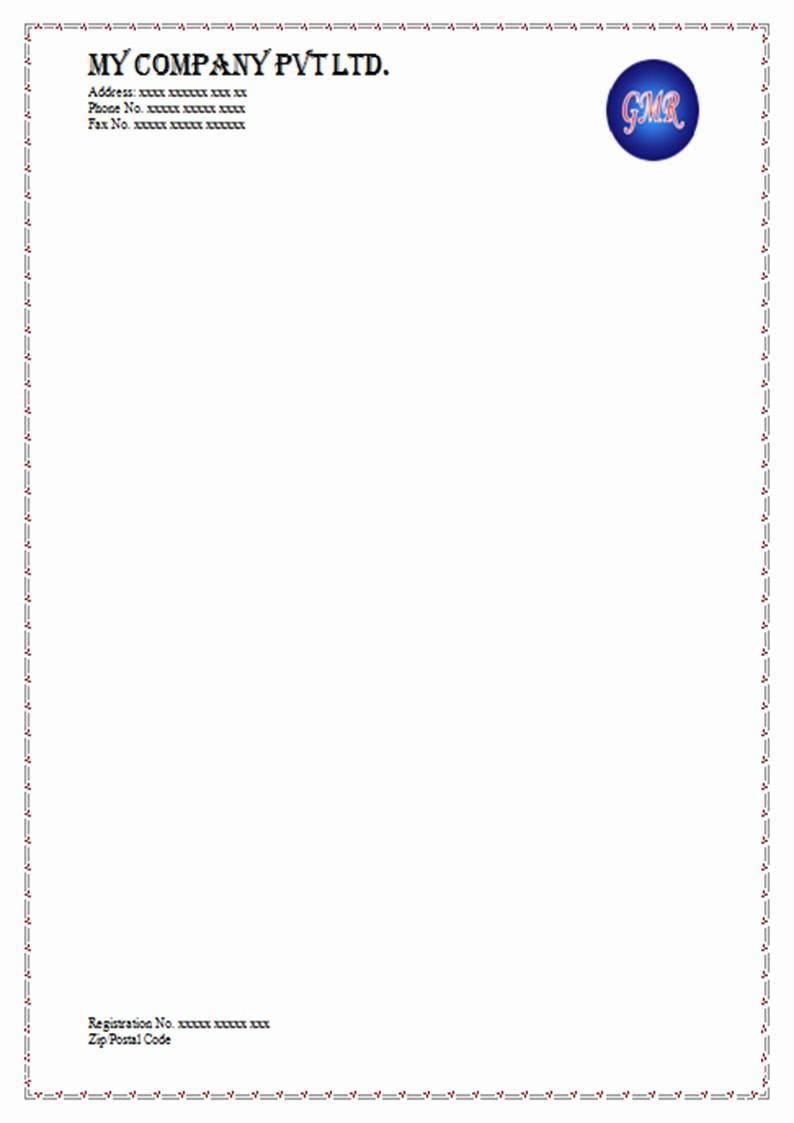 What is A Business Letterhead Fresh 18 Letterheads Samples