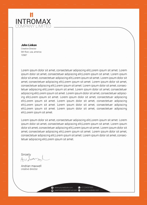 What is A Business Letterhead Fresh 19 Pany Letterhead Templates Psd Ai