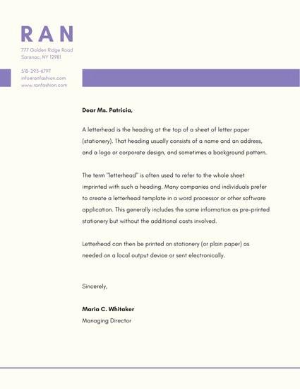 What is A Business Letterhead Fresh Business Letterhead Templates Canva