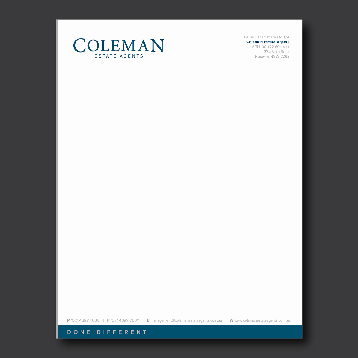 What is A Business Letterhead Inspirational Business Letterhead
