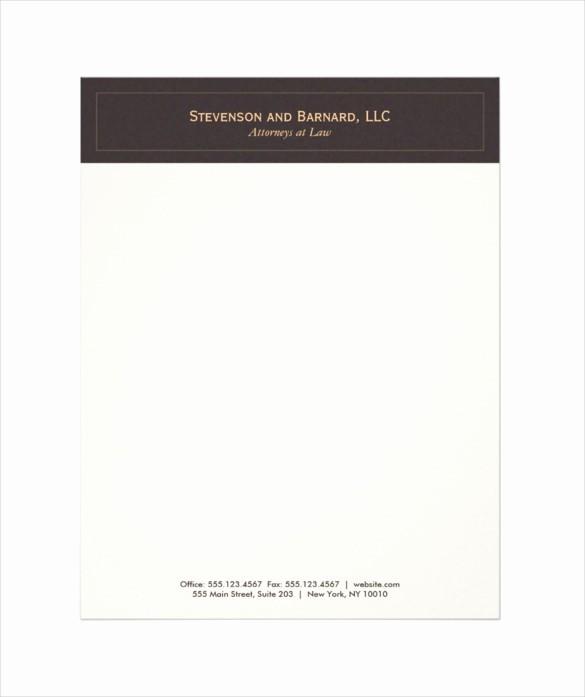 What is A Business Letterhead Unique 37 Professional Letterhead Templates Free Word Psd Ai