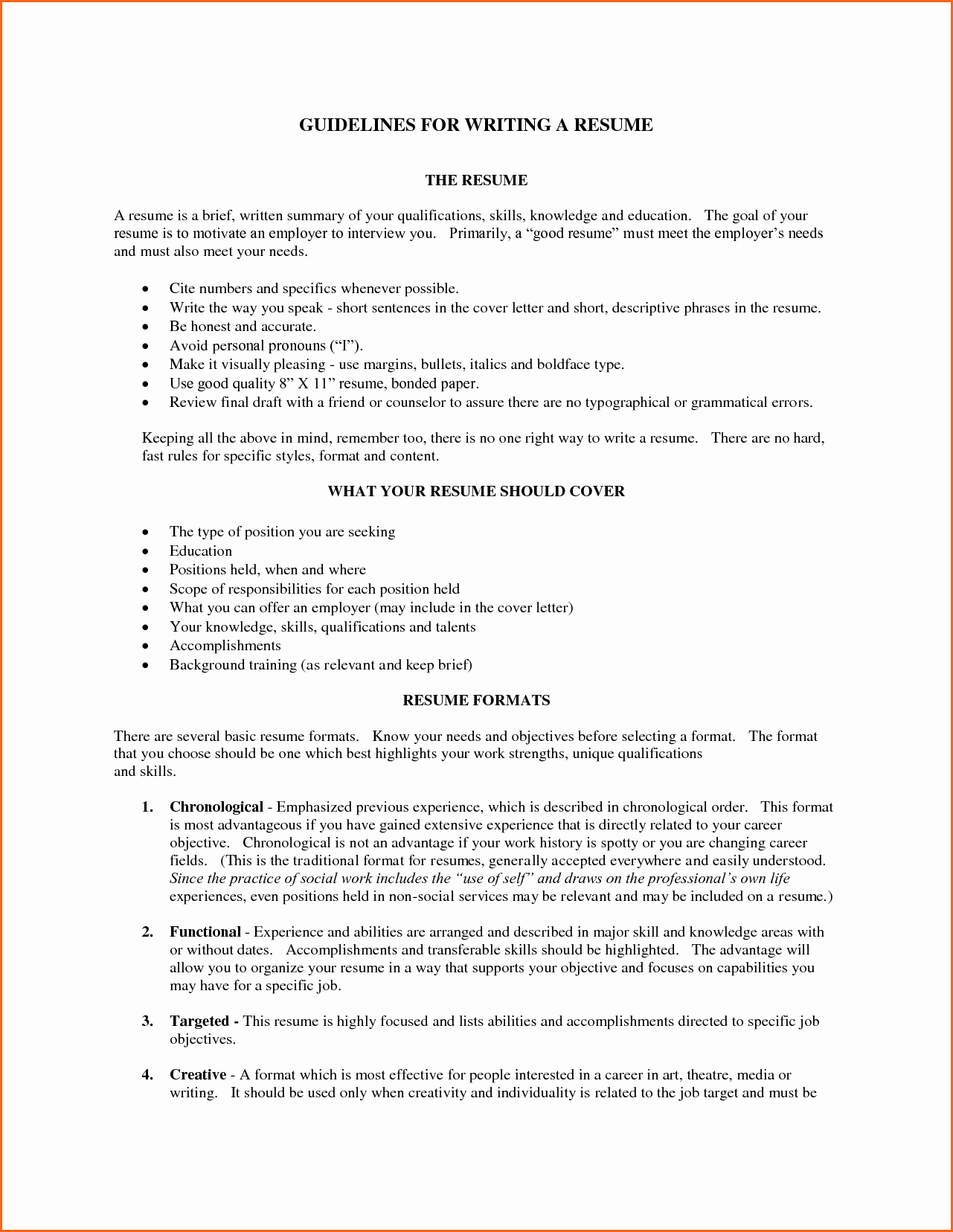 What is A Cv Letter Awesome 5 What Does A Good Resume Look Like Bud Template Letter