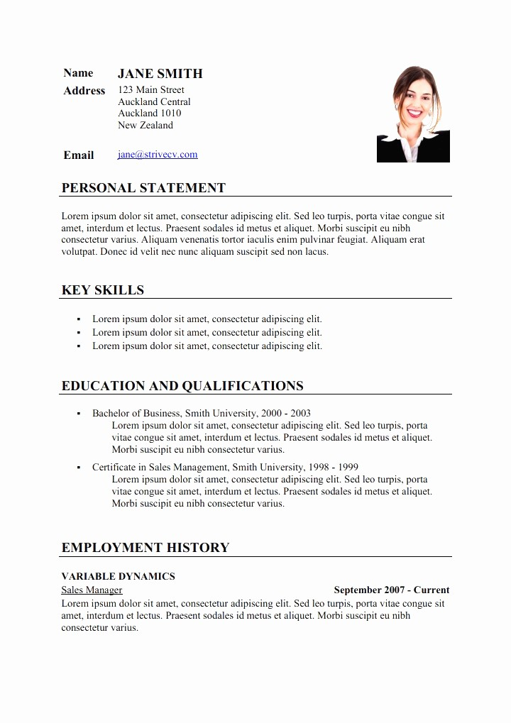 What is A Cv Letter Beautiful Curriculum Vitae Example
