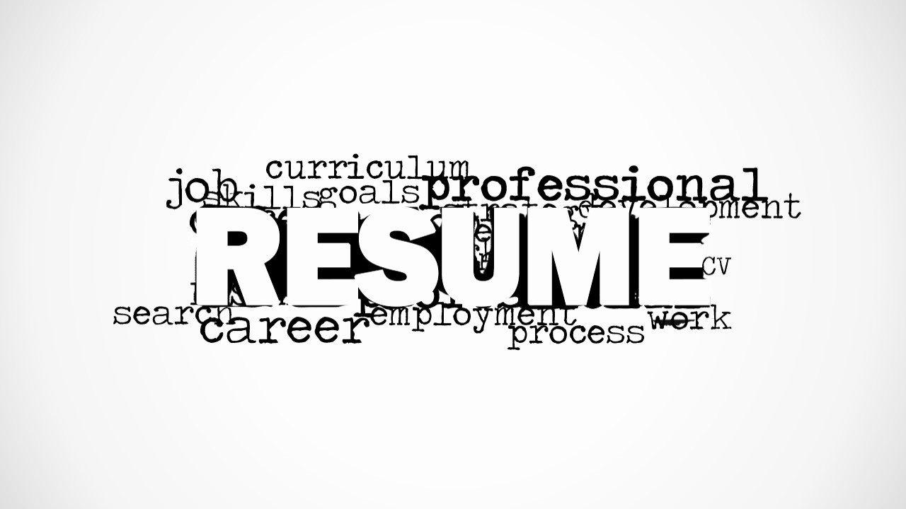 What is A Cv Word Best Of Resume Word Cloud Picture for Powerpoint Slidemodel