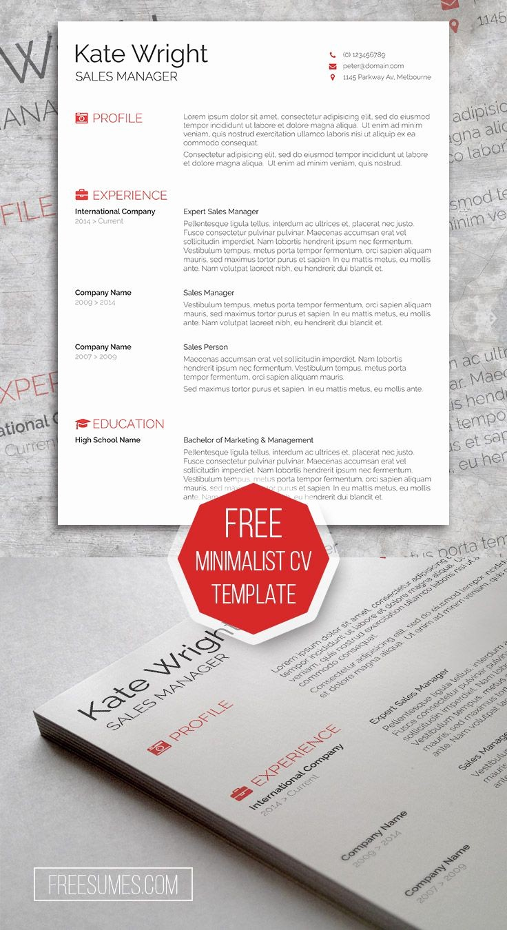 What is A Cv Word Fresh 79 Best Free Resume Templates for Word Images On Pinterest