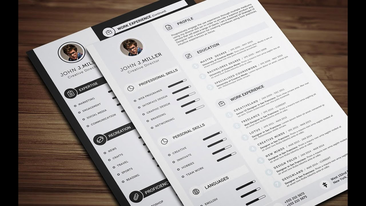 What is A Cv Word Inspirational Clean Cv Resume Ms Word Tutorial