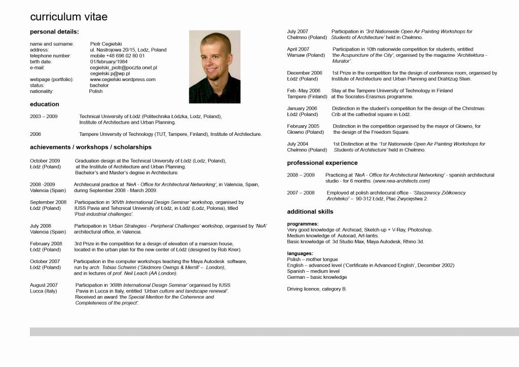 What is A Cv Word Inspirational Cv Resume Cv