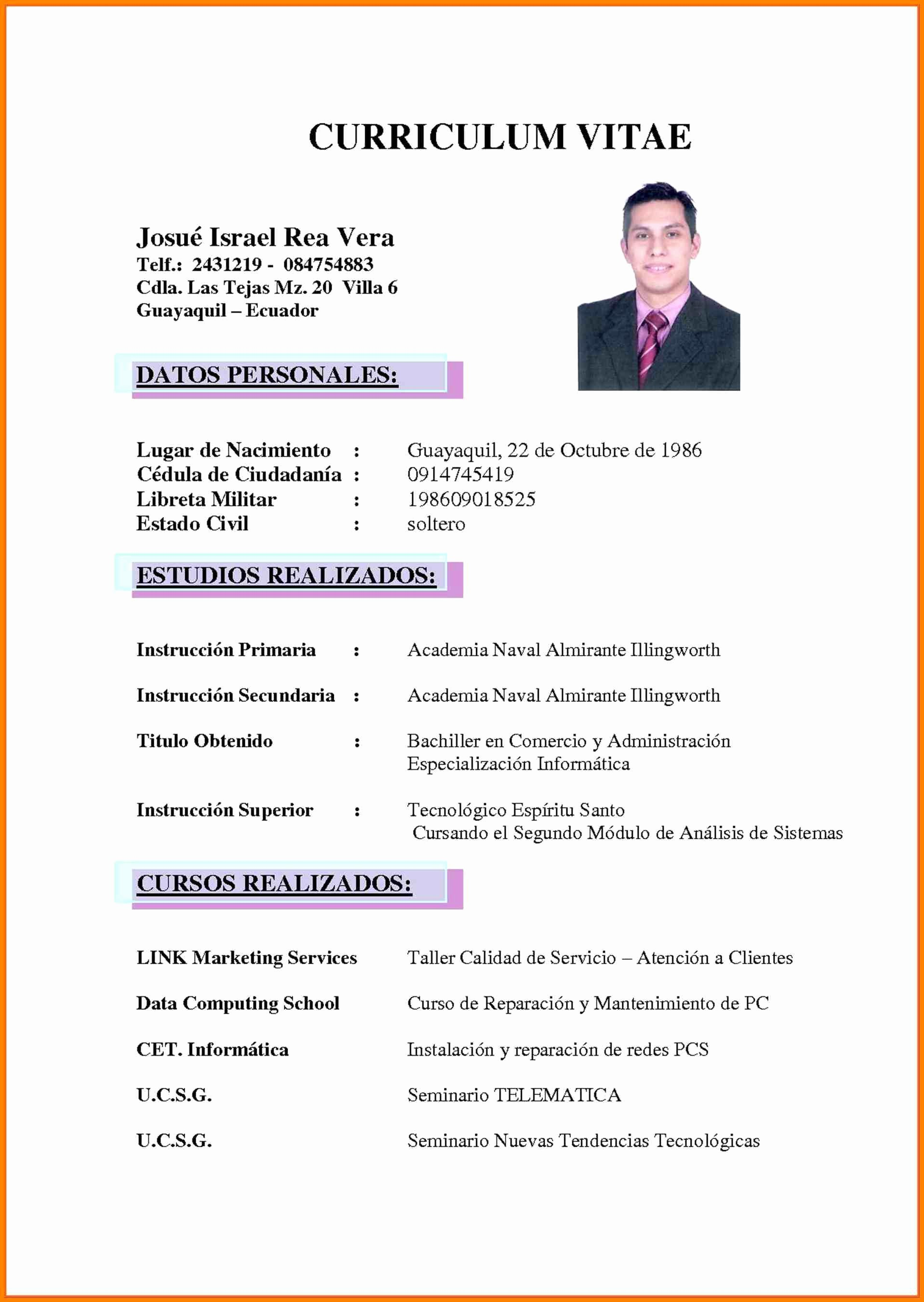 What is A Cv Word Unique Curriculum Vitae