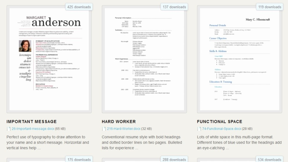 What is A Cv Word Unique Download 275 Free Resume Templates for Microsoft Word