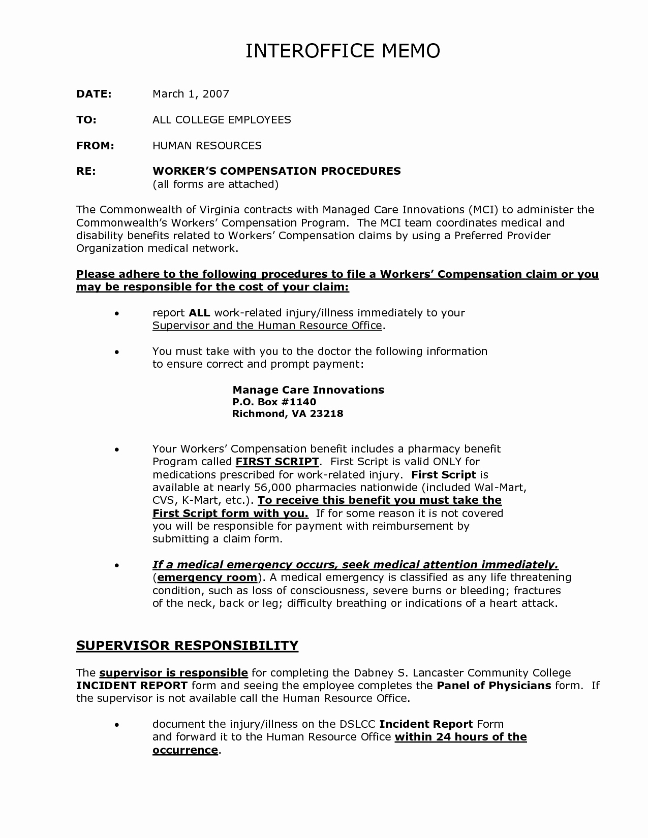 What is A Interoffice Memo Unique 10 Best Of Medical Interoffice Memo Business