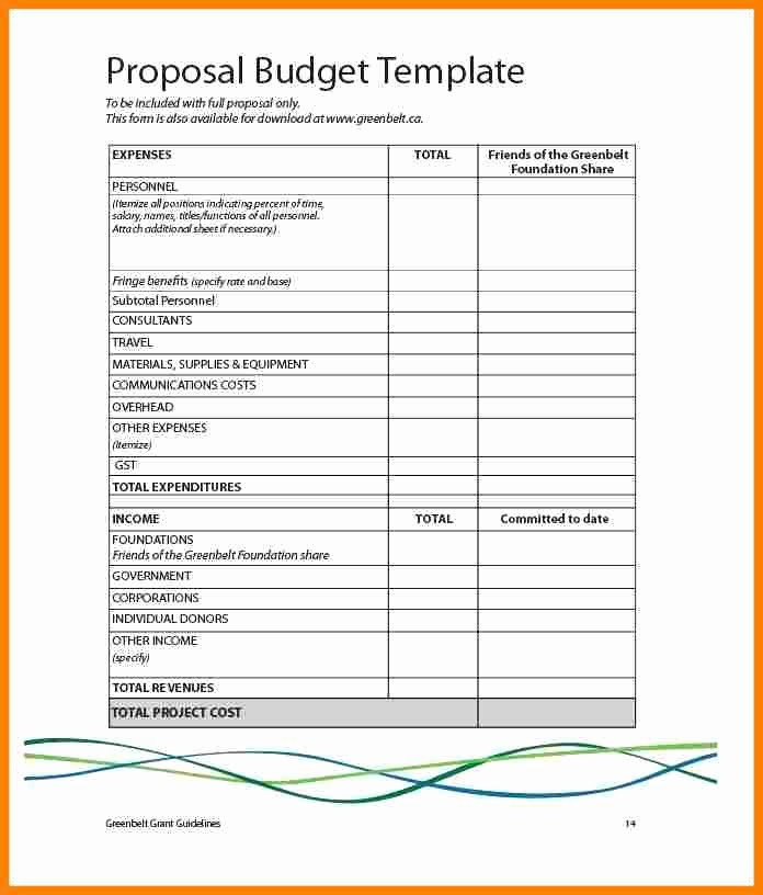 What is An Itemized Budget Luxury 5 Itemised Bill Of Costs Template