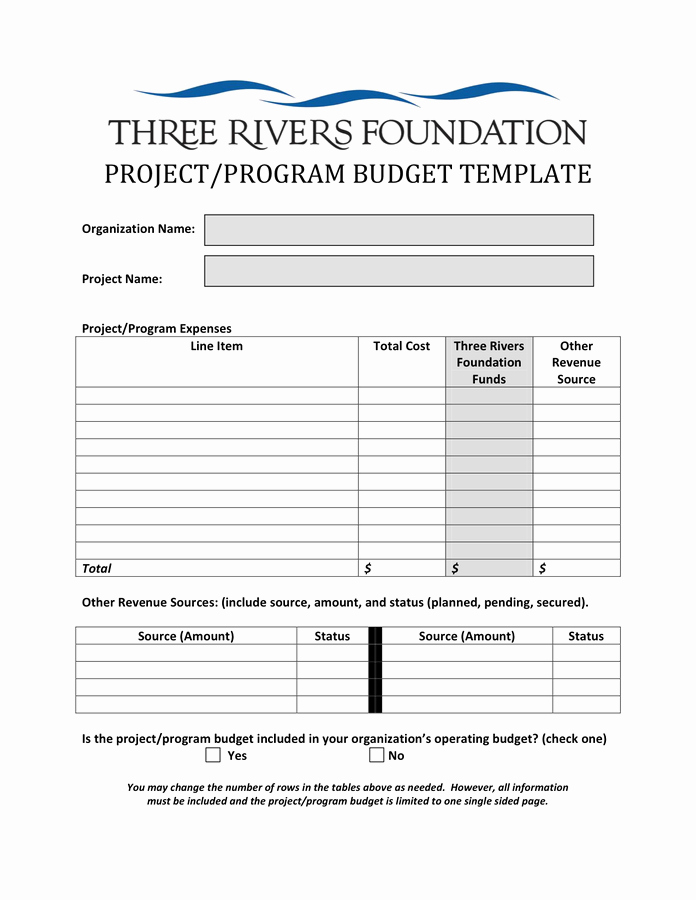 What is An Itemized Budget New Project Bud Template In Word and Pdf formats