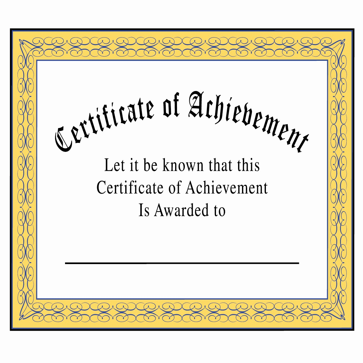 What is Certificate Of Achievement Lovely Certificate Achievement Clipart