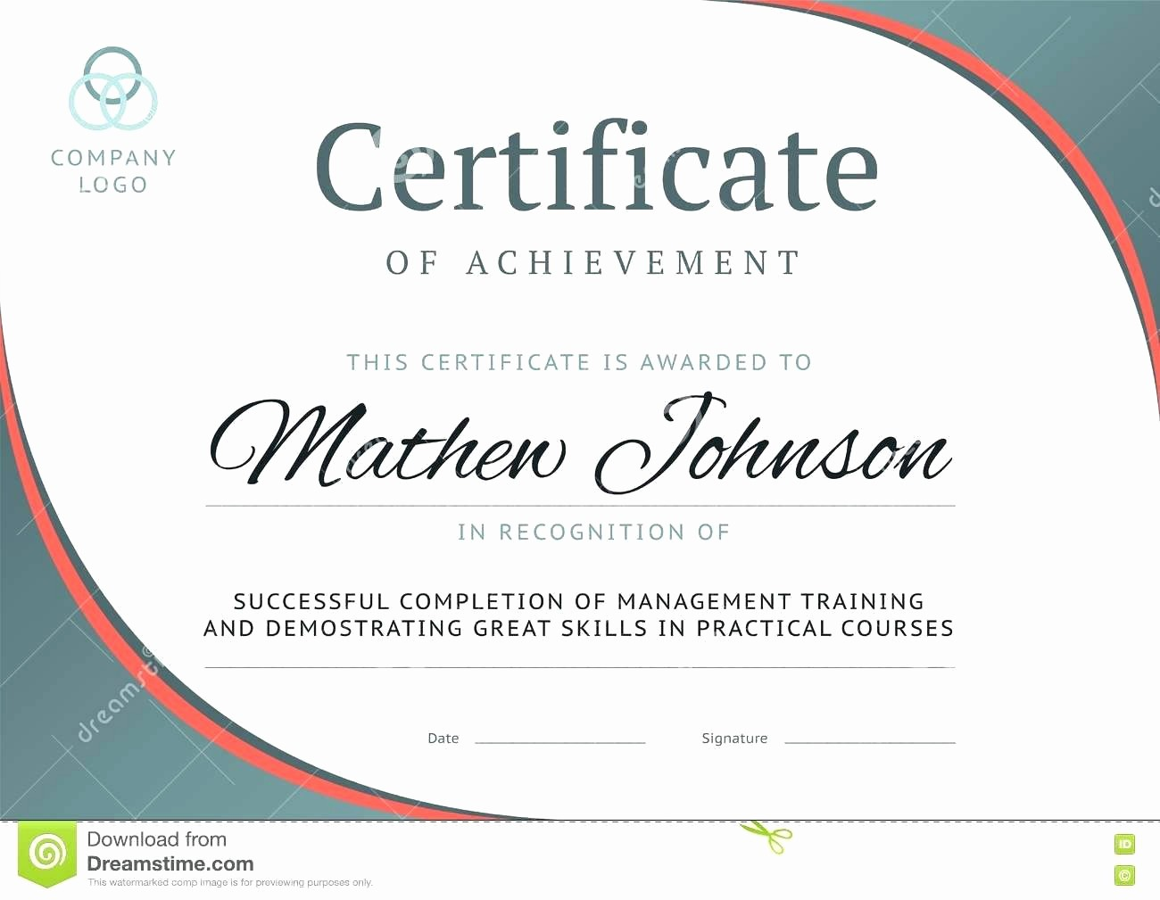 What is Certificate Of Achievement Lovely Template Template Certificate Achievement
