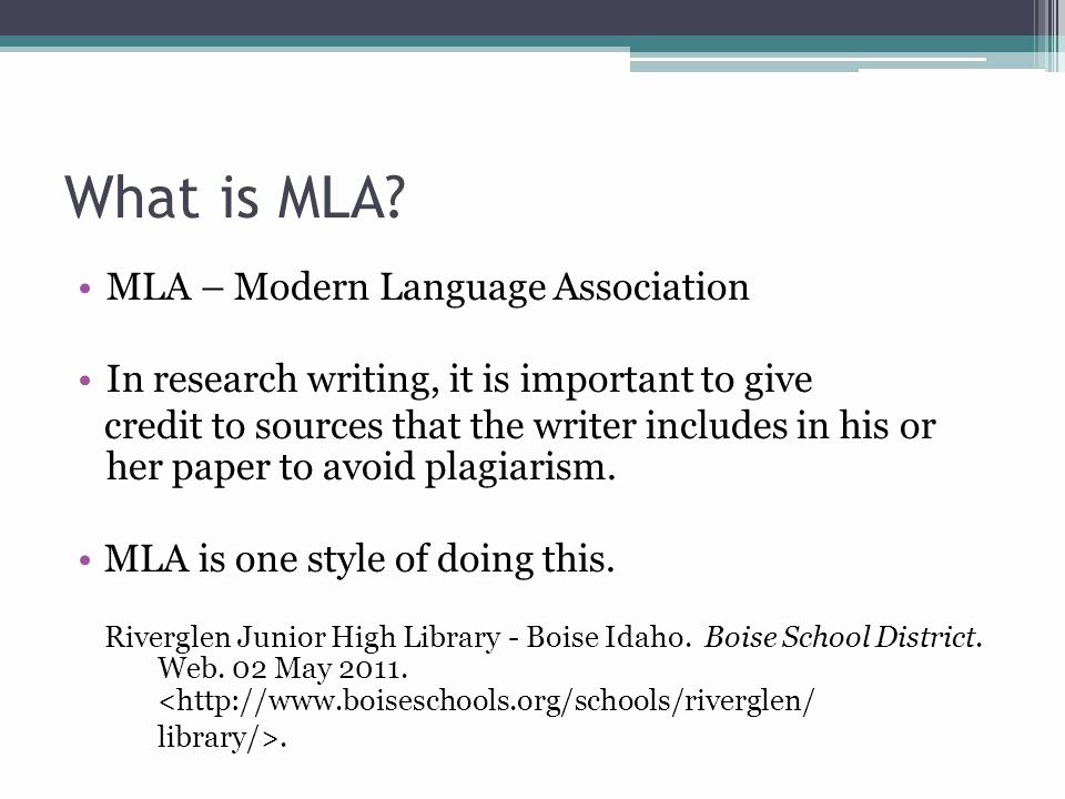 What is Mla Writing Style Best Of Introduction to Mla format Ppt Video Online