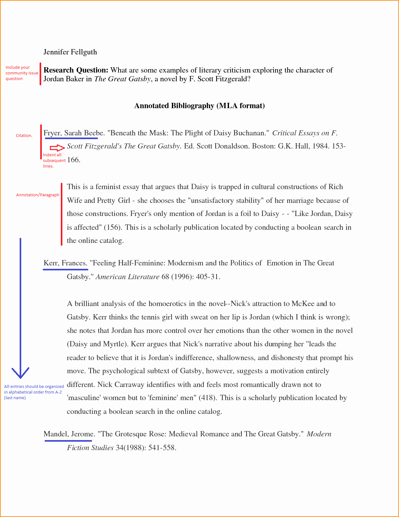 What is Mla Writing Style Best Of Mla Bibliography Example and Citations