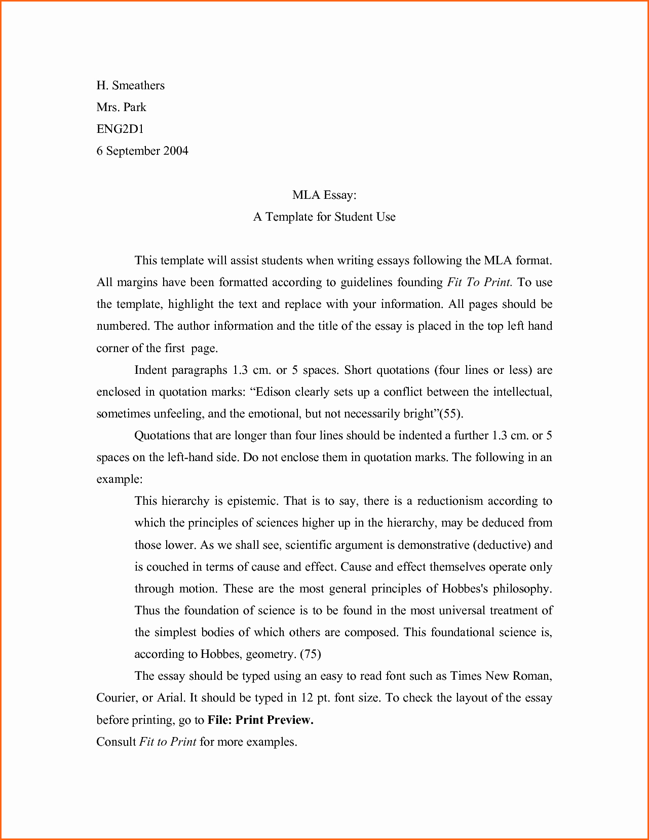 What is Mla Writing Style Best Of Mla format Quotes In Essay From Website