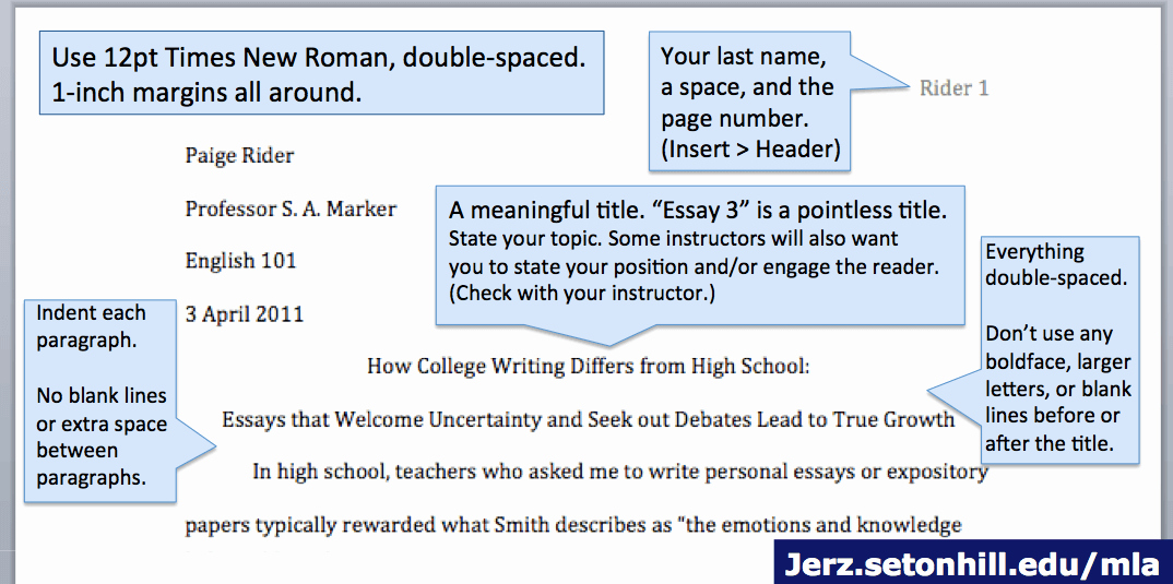 What is Mla Writing Style Luxury Mla Style Paper Layout Of First Page