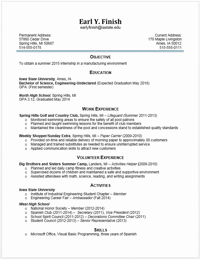 What's A Work Cited Page Inspirational Student Activity Resume Best Resume Collection
