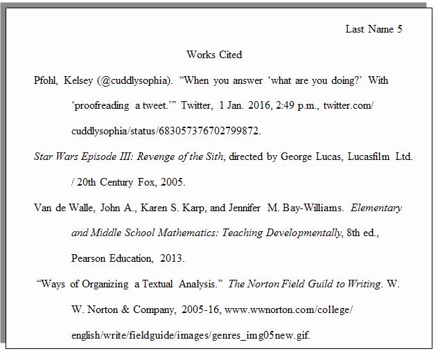 What's A Work Cited Page New How Do I Set Up A Paper with Mla formatting