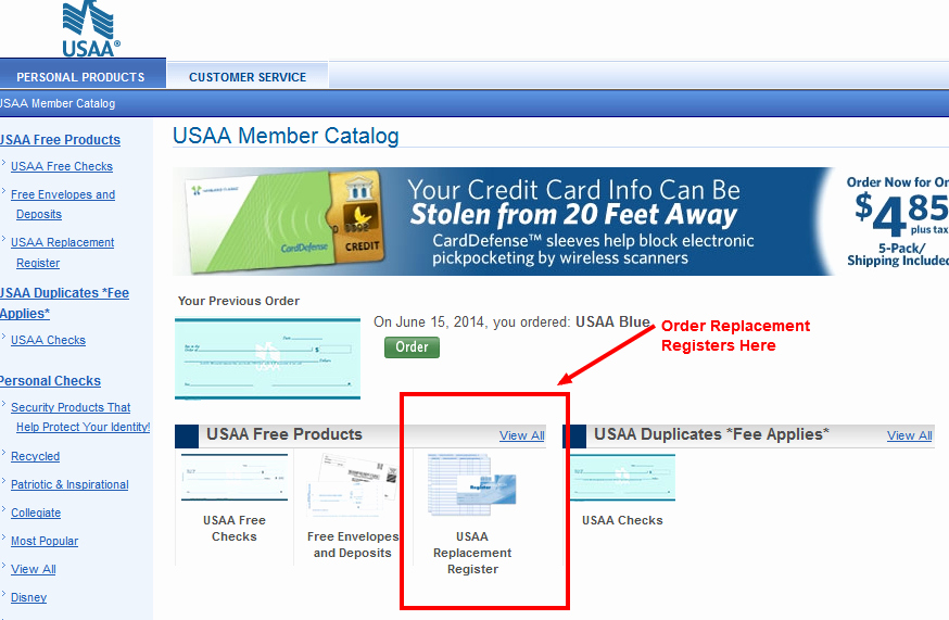 Where to Buy Check Registers Awesome Check Registers why is so Hard to order them Usaa