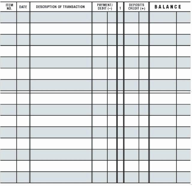 Where to Buy Check Registers Lovely Free Checkbook Register Buy Ledger Registers – Hetero