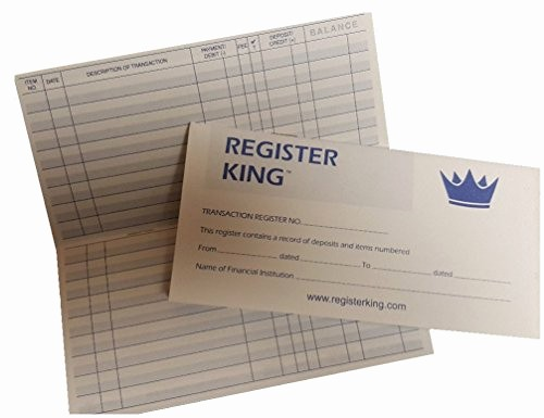 Where to Buy Check Registers New Register