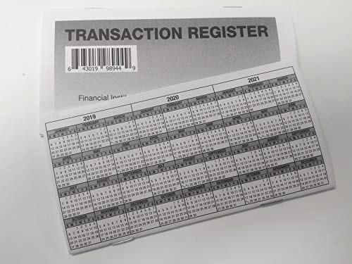 Where to Buy Check Registers Unique 5 Checkbook Registers 2019 20 21 Calendar Transactions