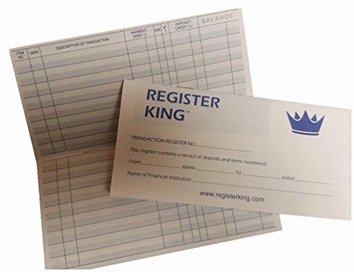 Where to Buy Checkbook Register Beautiful Register