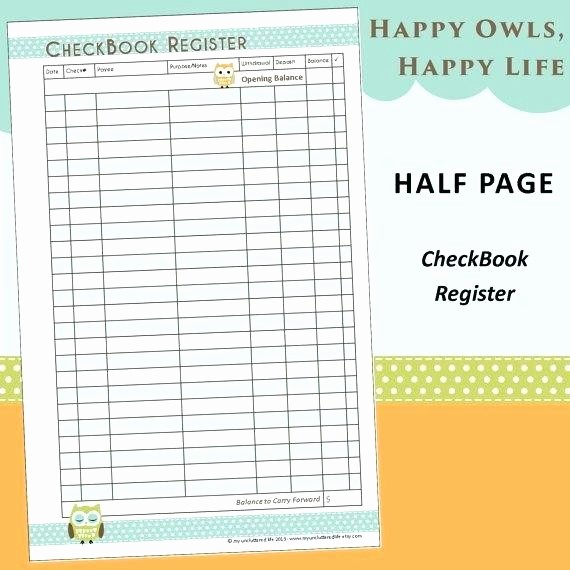 Where to Buy Checkbook Register Inspirational Super In Depth Checkbook Project Including Blank Check
