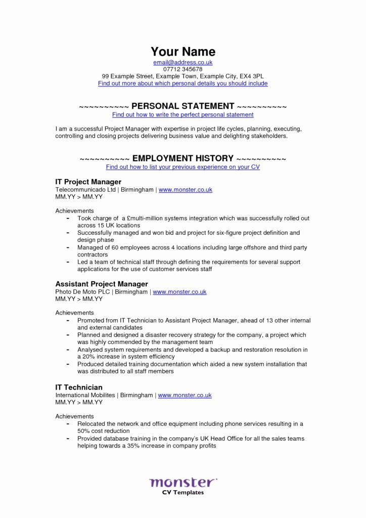Where to Find Resume Templates Luxury Monster Resume