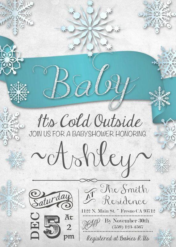 Winter Wonderland Invitation Template Free Elegant Winter Wonderland Baby Shower Invitations Winter