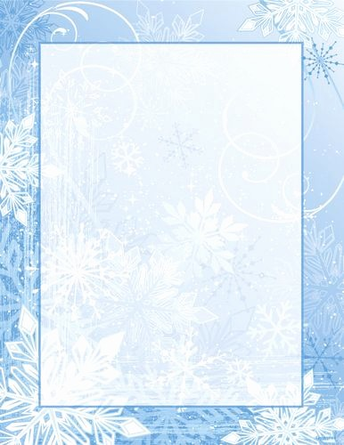 Winter Wonderland Invitation Template Free Fresh Christmas Letterhead Winter Wonderland Holiday Stationery