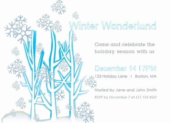 Winter Wonderland Invitation Template Free Fresh Party Invitations Winter Wonderland Party Invitations at