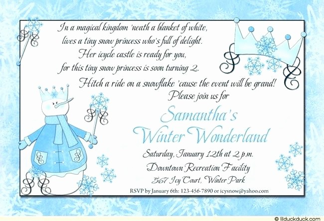 Winter Wonderland Invitation Template Free Lovely Winter Wonderland Wedding Invitation Free Download Party