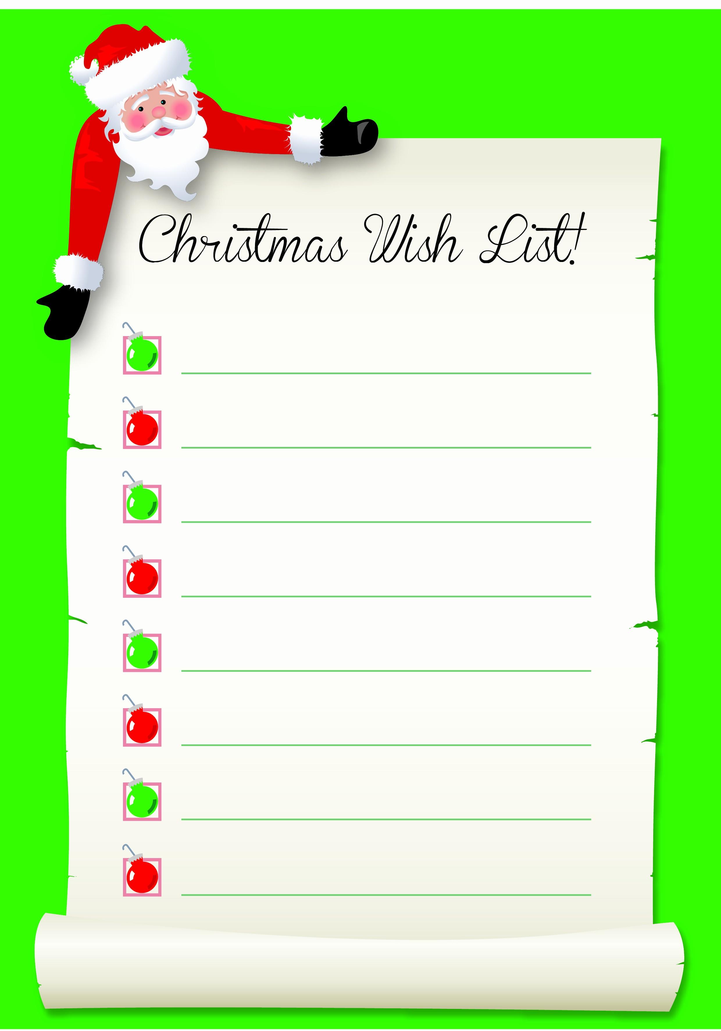 Wish List Template Microsoft Word Awesome Free Stuff