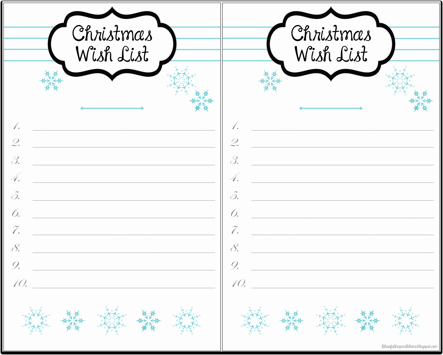 Wish List Template Microsoft Word Lovely Free Printable Christmas Wish List Template withregard to